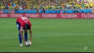 Loat da luan luu 11 met giua Brazil va Chile World 2014