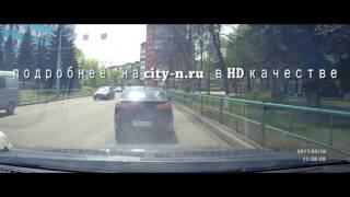 Неадекват на дороге в Новокузнецке