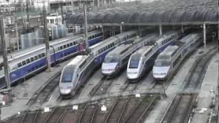 preview picture of video 'TGV à Charenton-le-Pont (2) 4km de Paris - Gare de Lyon'