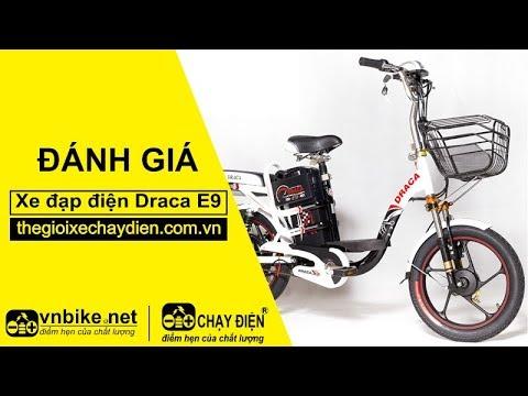 Đánh giá xe đạp điện Draca E9