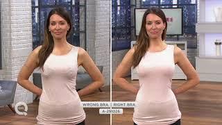 Breezies Everyday Essential T-Shirt Bra on QVC