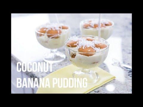 Coconut Banana Pudding – Easy Dairy Free Dessert Recipes