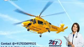 Air Ambulance Service in Patna and Guwahati with Doctor-King Ambulance