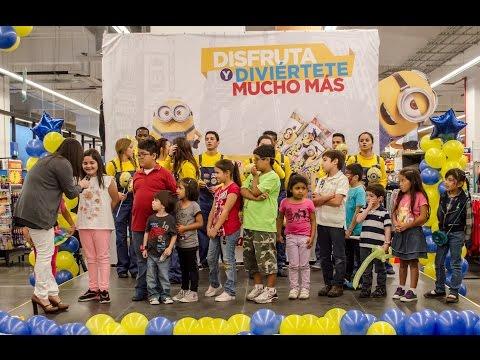 Los Minions invaden Walmart