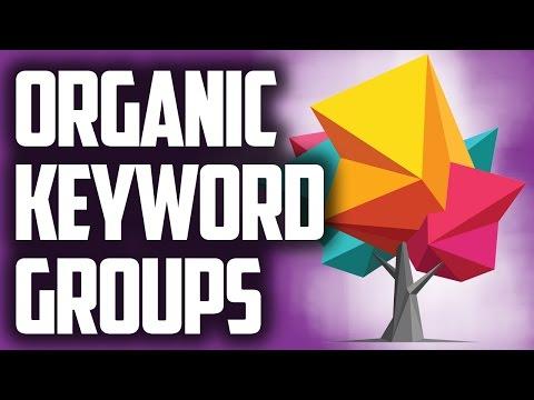 excel keyword analysis reporting groups