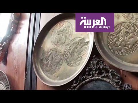 العرب اليوم - شاهد: قصة سوري عاشق النحت على النحاس يُجسِّد تحدي الحرب بالفن