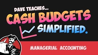 The Cash Budget Part 1, Sales Budget and Collections Budget (Cost Accounting Tutorial #39)