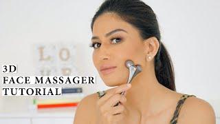 3D Face Massager Tutorial