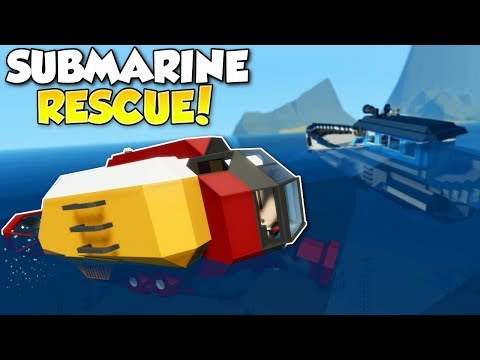 RESCUE MISSION = SINKING SHIP SURVIVAL! - Stormworks: Build and Rescue Multiplayer Gameplay