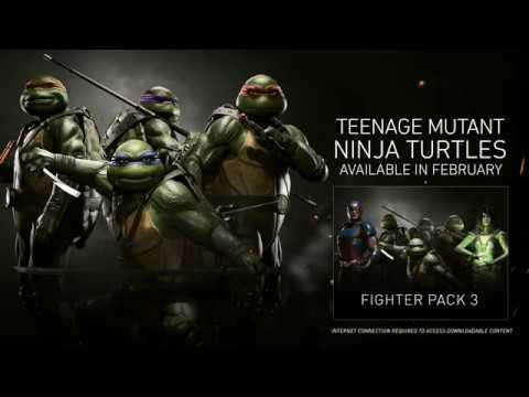 Trailer pour les Tortues Ninja en DLC de Injustice 2