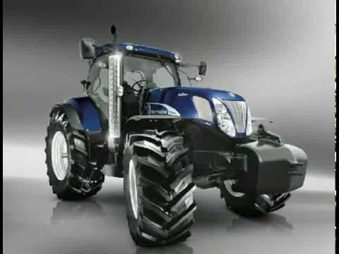New Holland T7000 Blue Power Un-Limited Edition