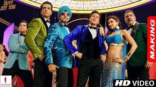 Making of Happy New Year   Deepika Padukone, Shah Rukh Khan, Abhishek Bachchan, Sonu Sood