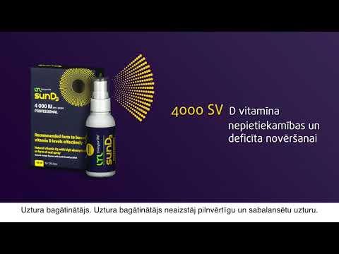 LYL Sun D3 4000 IU спрей, 50 мл