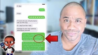 Reading WEIRD Breakup Text Confessions!!