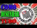 Como desenhar o símbolo do Corinthians - YouTube