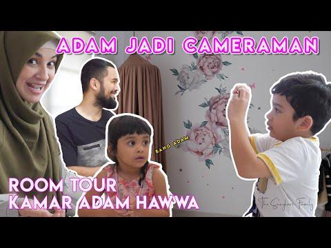 ROOM TOUR ADAM HAWWA ,KOK MAMI PUSING? 🤪