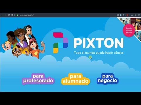 Guía para realizar historietas con Pixton