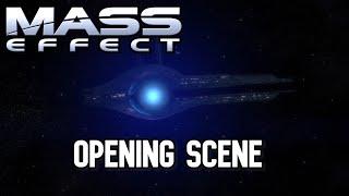 Mass Effect - Opening Scene HD - Femshep Paragon