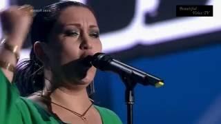 Katharine. 'Hijo de la luna'. The Voice Russia 2016.