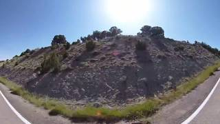 Fly By Explosive Mining Operations In Utah In 360 VR