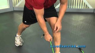 Bodylastics Tip: Using Bands Without Handles - Ankle Straps