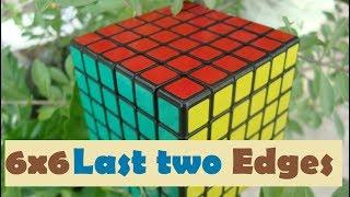 how to solve a 6x6 rubik's cube edge parity - TH-Clip