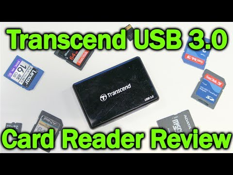 Review Transcend USB 3.0 Multi-Card Reader