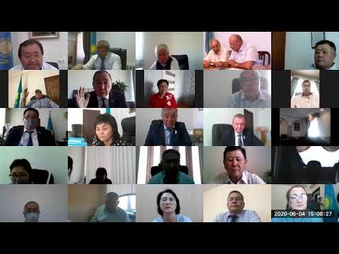 Очередная LVII сессия Алматинского областного маслихата