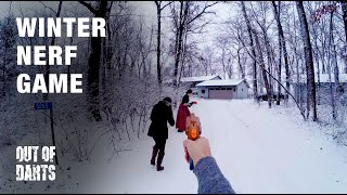 FUN: Nerf in the SNOW! (In UHD/4k)