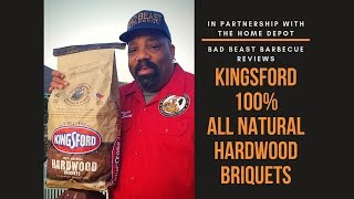 Kingsford Hardwood Charcoal Briquettes Review- The Home Depot Kingsford Hardwood Campaign 2019