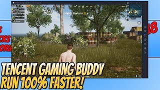 Tencent Gaming Buddy How To Improve Performance PUBG Mobile | RUN PUBG Mobile 100% Faster!