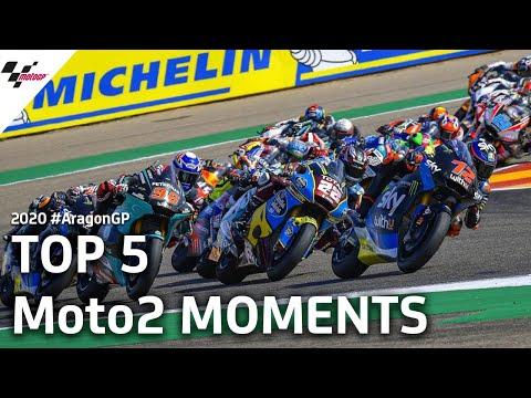 Moto2のハイライト動画 MotoGP アラゴンGP 決勝レース