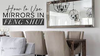 FENG SHUI Tips For MIRRORS In Your Home   Julie Khuu