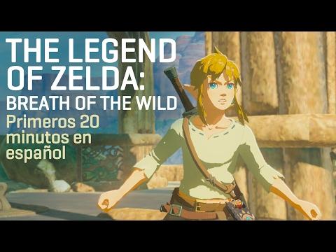 Primeros 20 minutos de Breath of the Wild en castellano