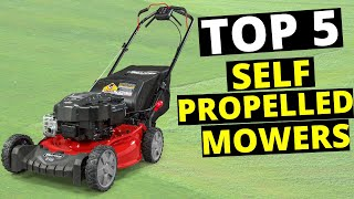 Top 5 Best Self Propelled Lawn Mowers in 2020 (Buying Guide) | Review Maniac