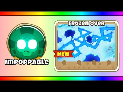 Bloons TD 6 - Frozen Over with Super MOABs and max speed (BTD6 v9