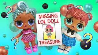 LOL Surprise Dolls Mystery Clue Game Featuring Treasure, Precious, Teachers Pet, and LOL Pet Cats!