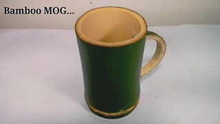 How To Make a Cups Using Bamboo