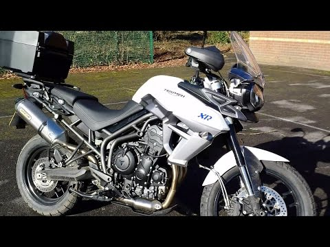 2015 Triumph Tiger 800 XRx (Arrow Exhaust) Test Ride & Review
