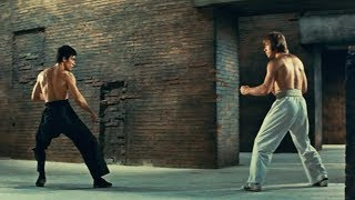 L' urlo di Chen terrorizza anche l'occidente - Bruce Lee vs Chuck Norris  (combattimento finale)