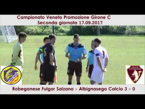 Preview video Robeganese Fulgor Salzano - Albignasego Calcio 3-0 (17.09.2017)