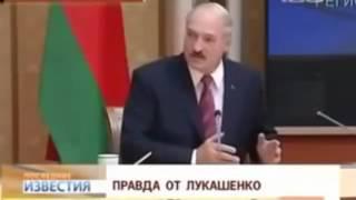 Лукашенко мочит  Приколы     конкретный ржач !!!