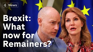 Goodbye EU: Arch Remainers reflect on where next
