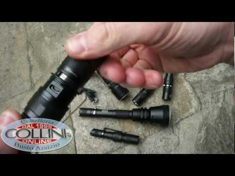 Nitecore Flash Light - potentissime torce a led ricaricabili - Coltelleria Collini