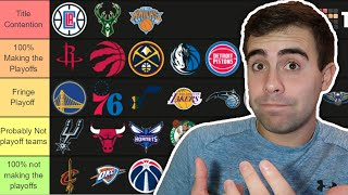 RANKING EVERY NBA TEAM FOR THE 2021 SEASON!