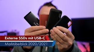 Externe USB-C SSDs | Marktüberblick 2020/2021 [Deutsch]