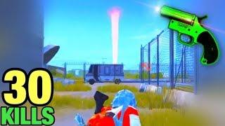 SUPER FLARE GUN!!! | 30 KILLS SOLO VS SQUAD | PUBG MOBILE