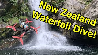 New Zealand FPV Freestyle + Waterfall Dive!