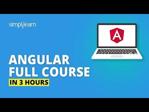 Angular Full Course - Learn Angular In 3 Hours | Angular Tutorial For Beginners | Simplilearn