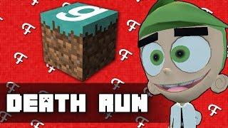 Gmod: Minecraft Edition! (Garry's Mod Deathrun Funny Moments)
